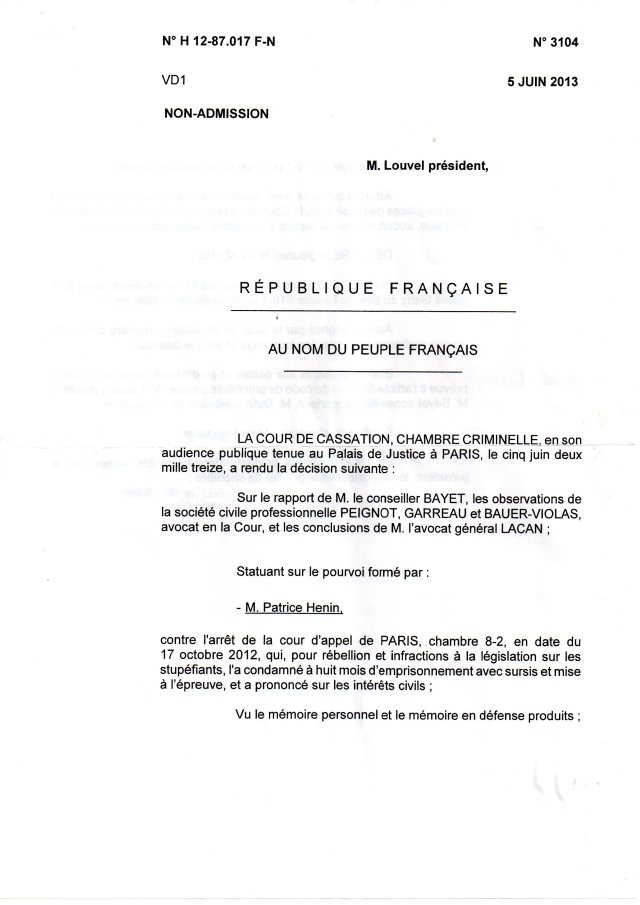 2013_07_22_non_admission_pourvoi003