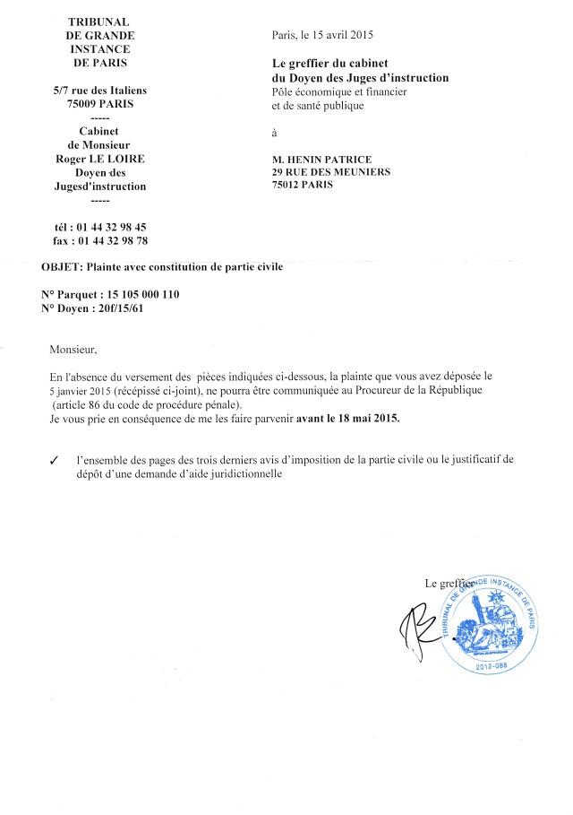 lettre Roger Le Loire01